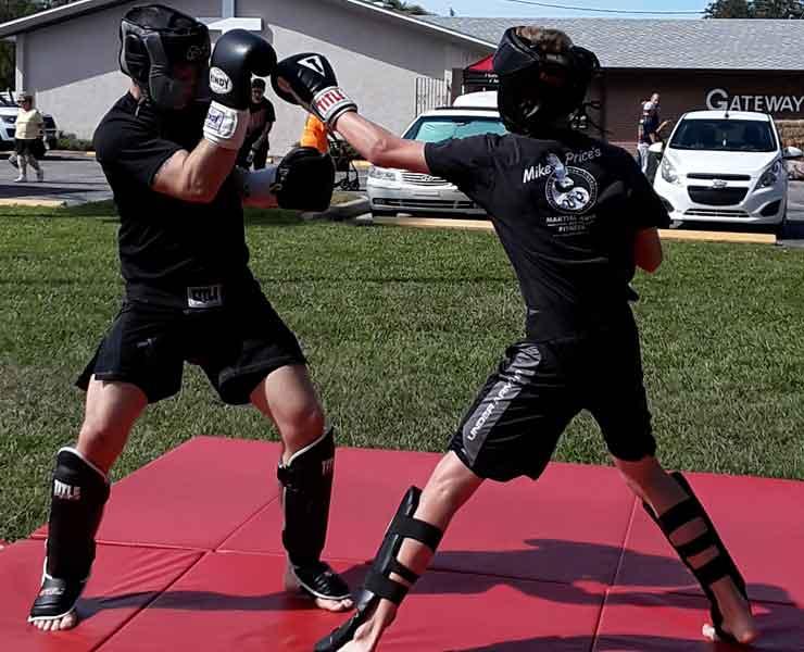 adult kickboxing martial arts