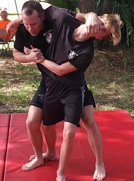 adult self defense martial arts class